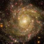 Estudo do campo magnético envolvendo o braço espiral da IC342 nos dá pistas sobre como ocorrem os processos de formação galáctica