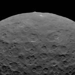 DAWN mostra uma grande e incomum montanha no asteroide Ceres