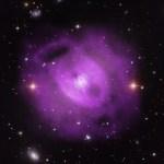 Chandra: Erupções sequenciais de buraco negro supermassivo moldou grupo de galáxias