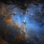 M16 e a Nebulosa da Águia por Jimmy Walker