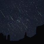 Sean M. Sabatini e a chuva de meteoros Leonídeos em Monument Valley