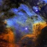 IC 5070: Roberto Colombari revela os gases, poeira e as estrelas da Nebulosa do Pelicano
