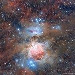 A poeira cósmica e a Nebulosa de Órion por Raul Villaverde Fraile