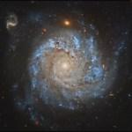 """NGC 1309: uma Galáxia Espiral """"Grand Design"""""""