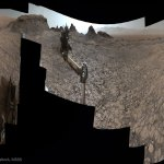 Curiosity explorando Murray Buttes em Marte