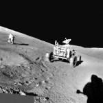31 de julho de 1971 – Panorama Lunar pela Apollo 15 em Hadley-Apennine