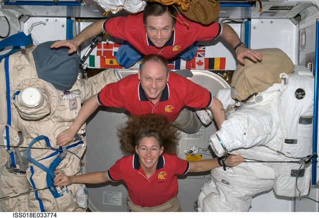 Tripulação atual da Estação Espacial Internacional