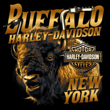 Buffalo Harley-Davidson of New York Handlebar Bison