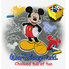 WDW Chalked Up Mickey