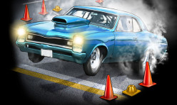 Eternyl-Studios-Muscle-Car Burn-Out