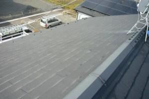 太陽光発電 スレート設置前