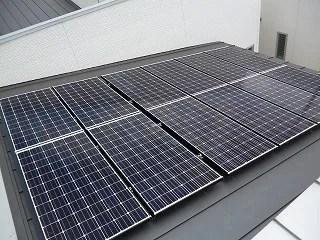 大阪府H様 パナソニック太陽光発電