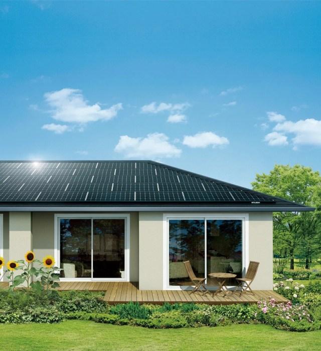太陽光発電システム イメージ