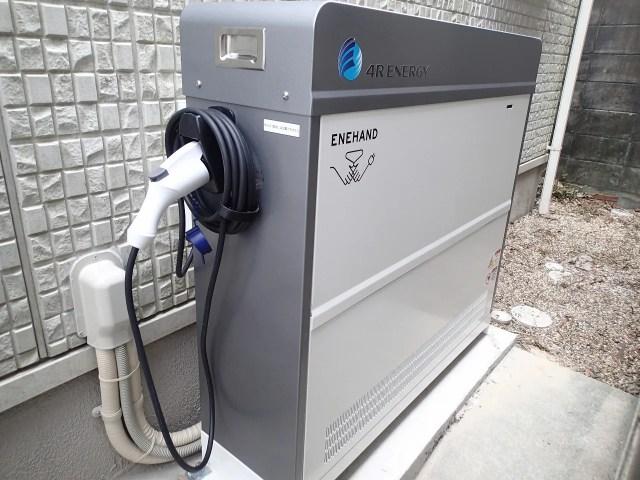 4RENERGYフォーアールエナジー エネハンド蓄電池 施工事例