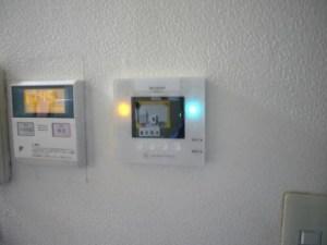 シャープ 太陽光発電 モニタ LAN配線