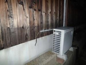 エアコンの配線工事