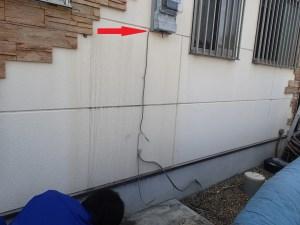 エコキュート リモコン配線