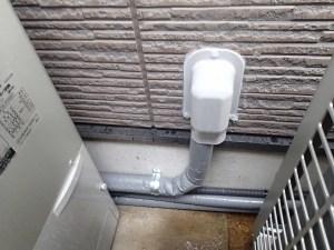 アダプター配管の交換工事