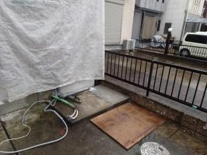 電気温水器撤去 (2)