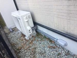 追い炊き配管の新設工事 (2)