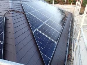 シャープ太陽光発電 設置完了後