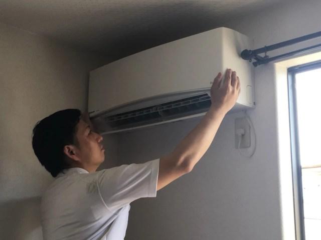 4 新しいエアコンを取付
