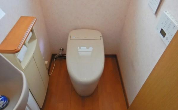 トイレ入替工事施工