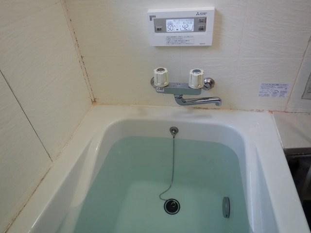 風呂の仕上がり
