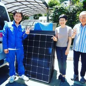 シャープ太陽光発電システム