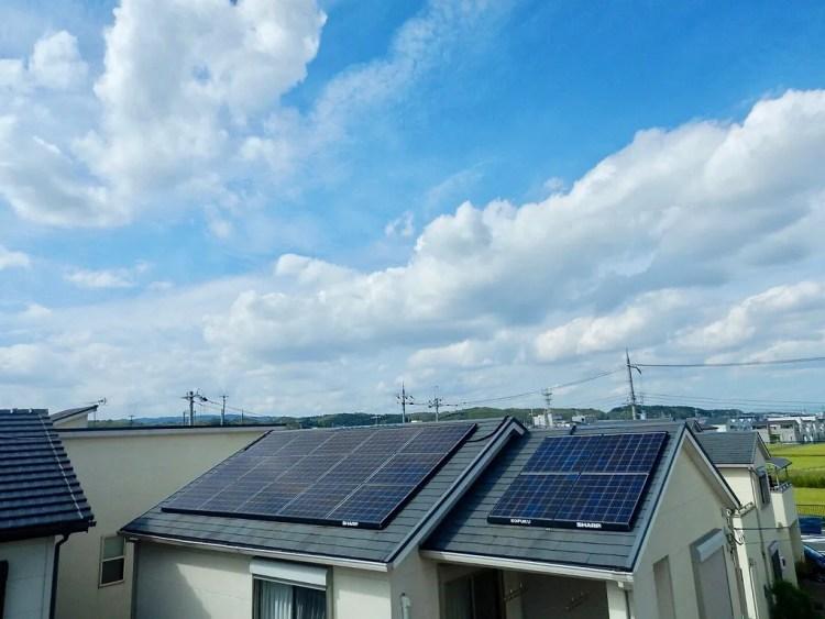 太陽光発電パネルで自家消費