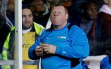 """FILE PHOTO: Britain Football Soccer - Sutton United v Arsenal - FA Cup Fifth Round - The Borough Sports Ground - 20/2/17 Sutton United's substitute Wayne Shaw eats a pie during the match Action Images via Reuters / Andrew Couldridge / File Photo. Livepic EDITORIAL USE ONLY. No use with unauthorized audio, video, data, fixture lists, club/league logos or """"live"""" services. Online in-match use limited to 45 images, no video emulation. No use in betting, games or single club/league/player publications. Please contact your account representative for further details."""