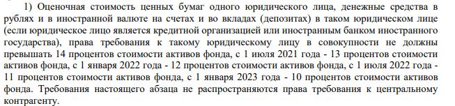 Выдержка из правил доверительного управления БПИФ «Альфа-Капитал Управляемые российские акции»