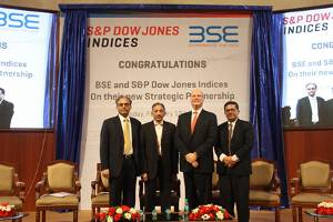BSE and S&P Dow Jones cement joint venture, launch Asia Index