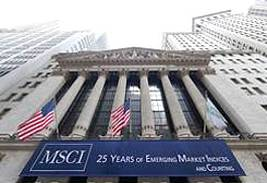 MSCI preferred index provider for institutional ETF investors