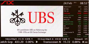 1,000th ETF listed on SIX Swiss Exchange