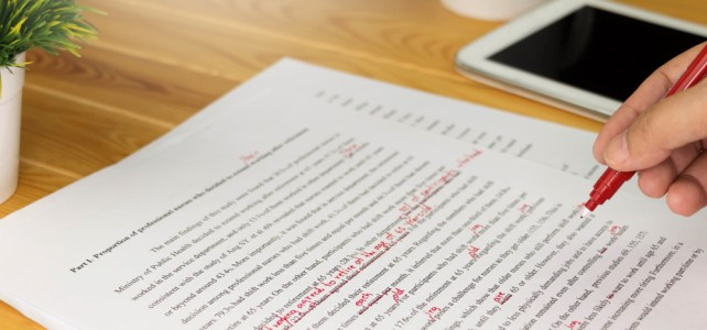 proofreading and copy editing services