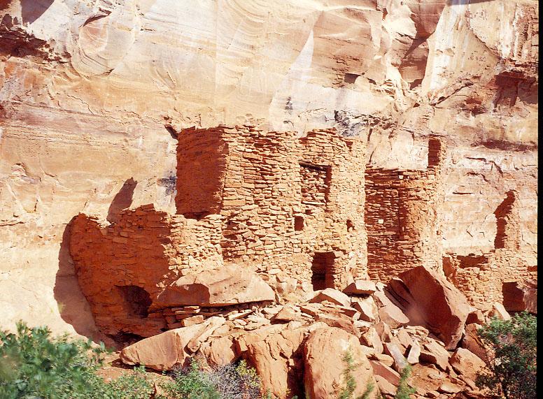 Native American ruins outside Sedona, AZ.