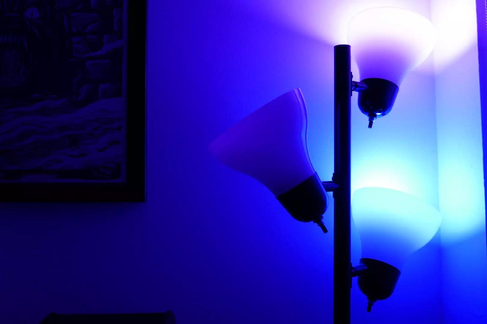 diy led lighting for your desk ethan