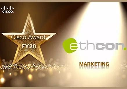Cisco Marketing Award ethcon