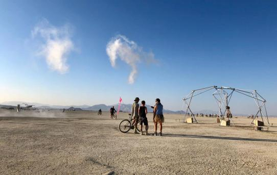 First Video from Burning Man 2018