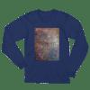etheric life rainbow galaxy long sleeve t-shirt navy