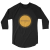 etheric life sunburst baseball raglan black/black