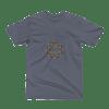 etheric life dual starburst logo tshirt asphalt