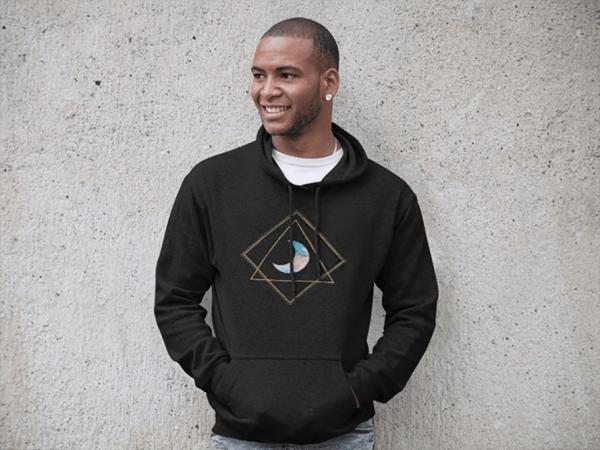 etheric life pastel mppn hoodie black