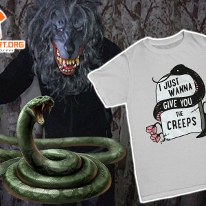 Thumbnail snake i just wanna give you the creeps Shirt