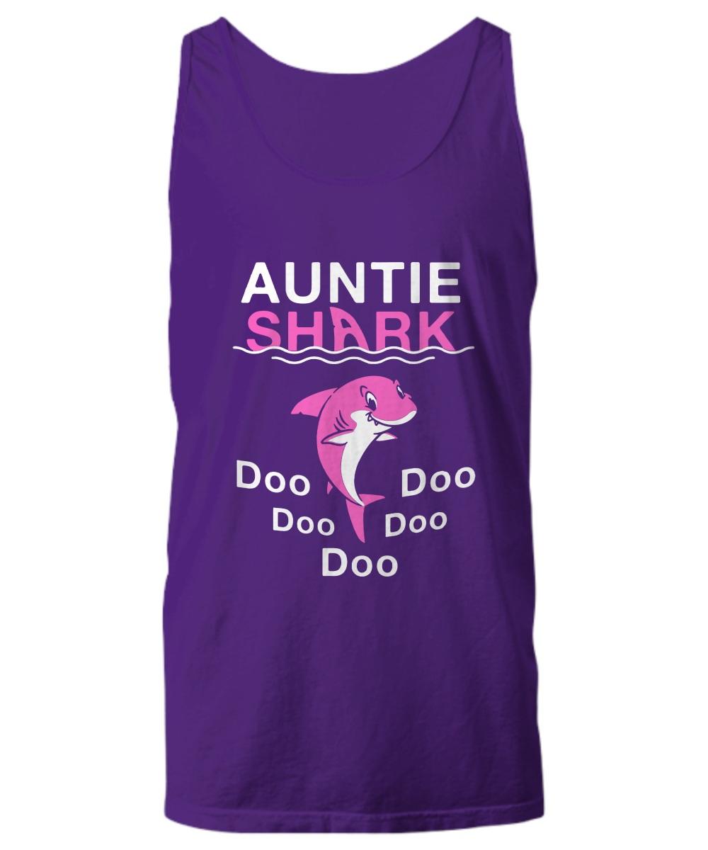 Auntie shark doo doo doo Tank Top