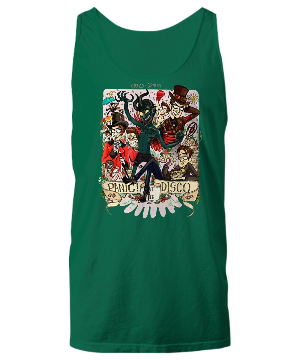 Demon panic at the disco tank top
