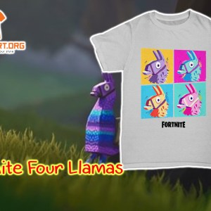 Fortnite Four Llamas shirt