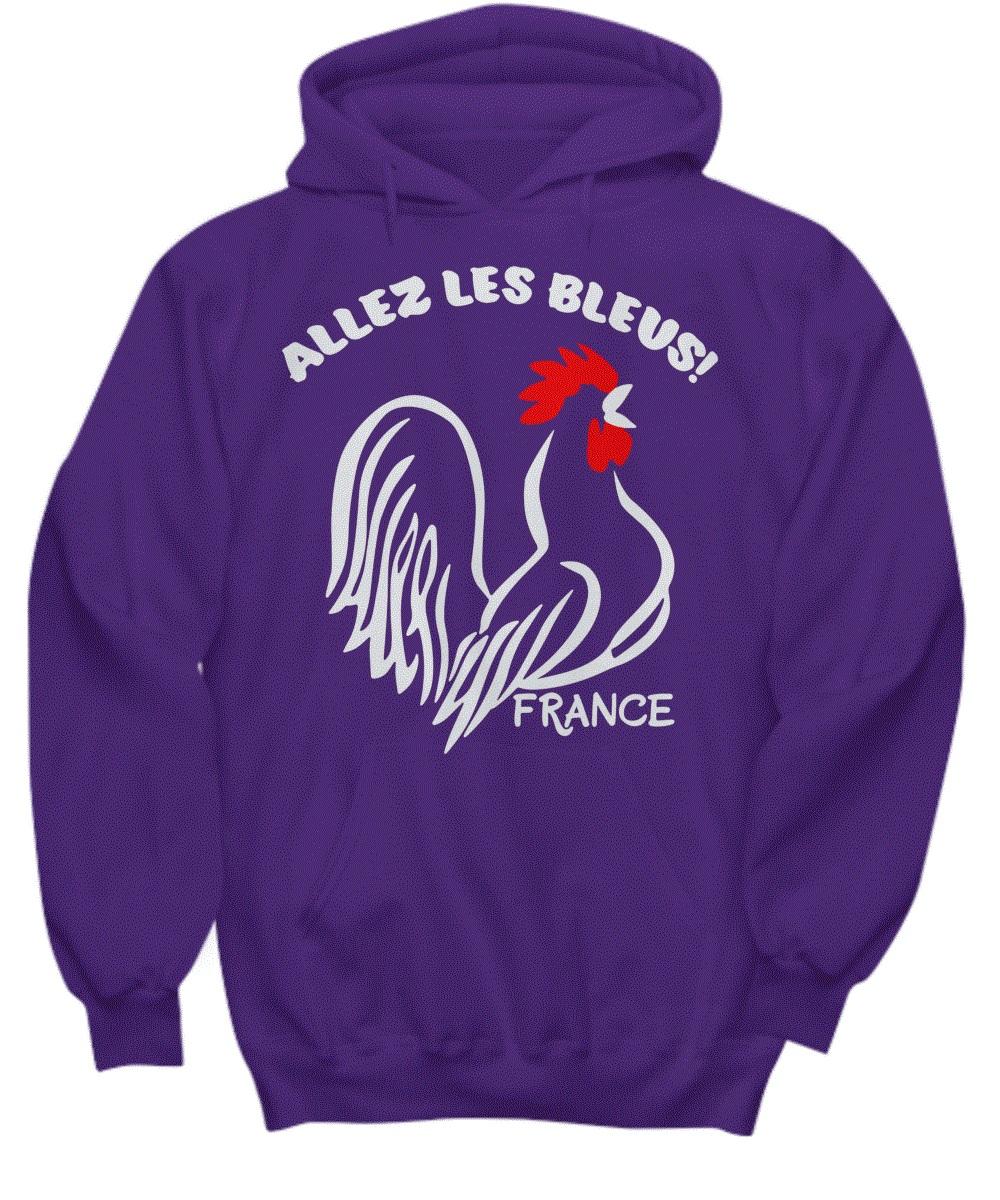 France Allez Les Bleus Hoodie