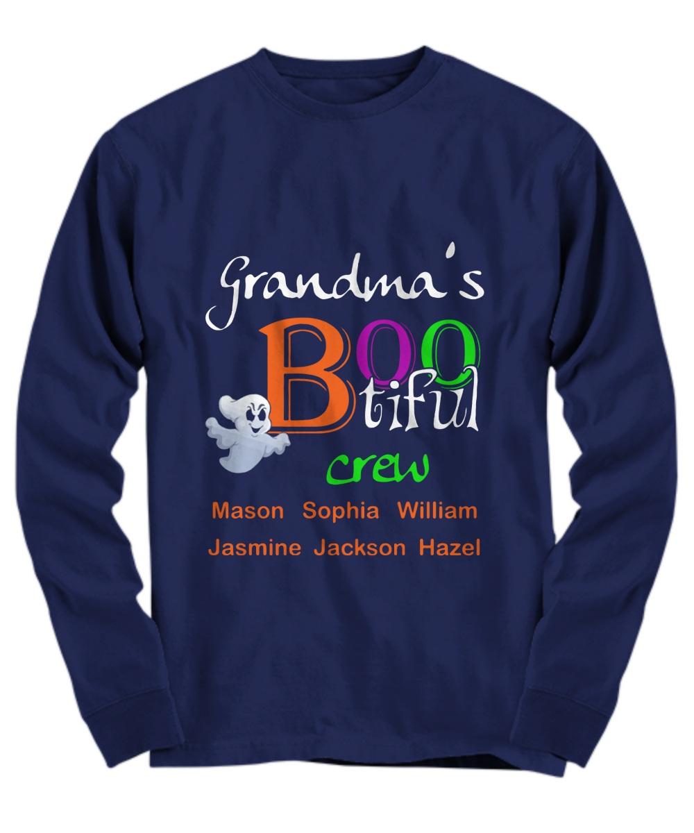 Grandma's bootiful crew Mason Sophia Long Sleeve
